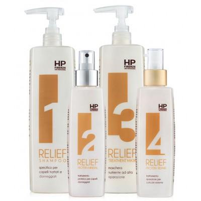 Relief холодное восстановление  для волос с эффектом эластинизации Rеlief 1000/200/1000/200 мл