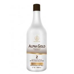 Нанопластика для волос Alpha Gold 1000 мл