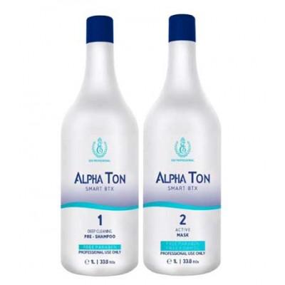 Нанопластика с пигментом для волос Alpha Ton 1000 мл
