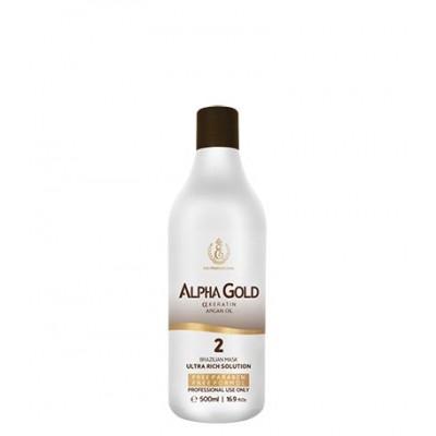 Нанопластика для волос Alpha Gold 500 мл