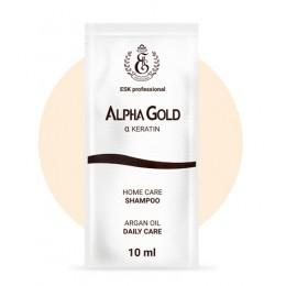 Саше шампунь Alpha Gold 10 мл